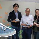 Calzado reciclado: un emprendimiento que reutiliza materiales en desuso